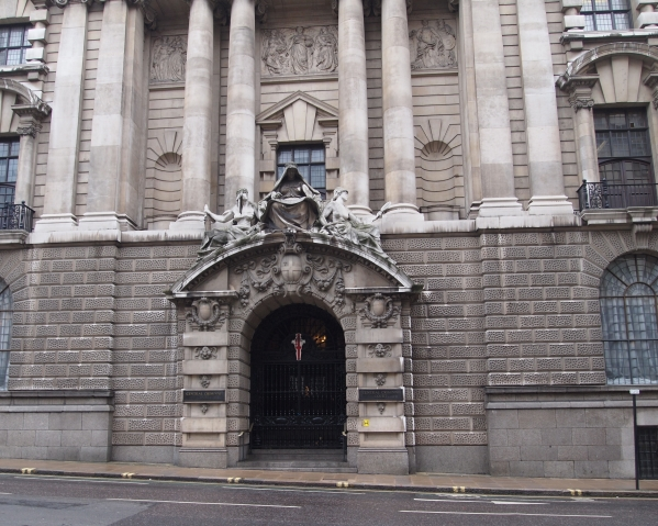 Eingang Old Bailey London 2011